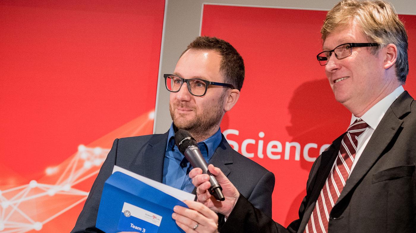 Science4Life; Ideenprämierung 2017, Fabian Stern, Viessmann, Energiewende
