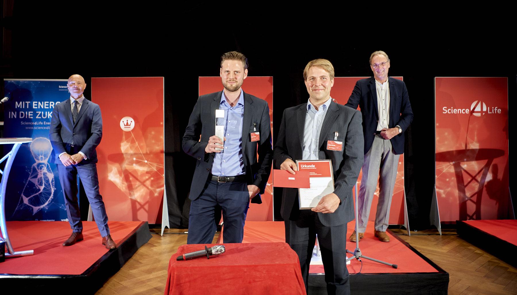 Nia Health, Gewinner Science4Life Businessplan Wettbewerb für Life Sciences, Chemie und Energie