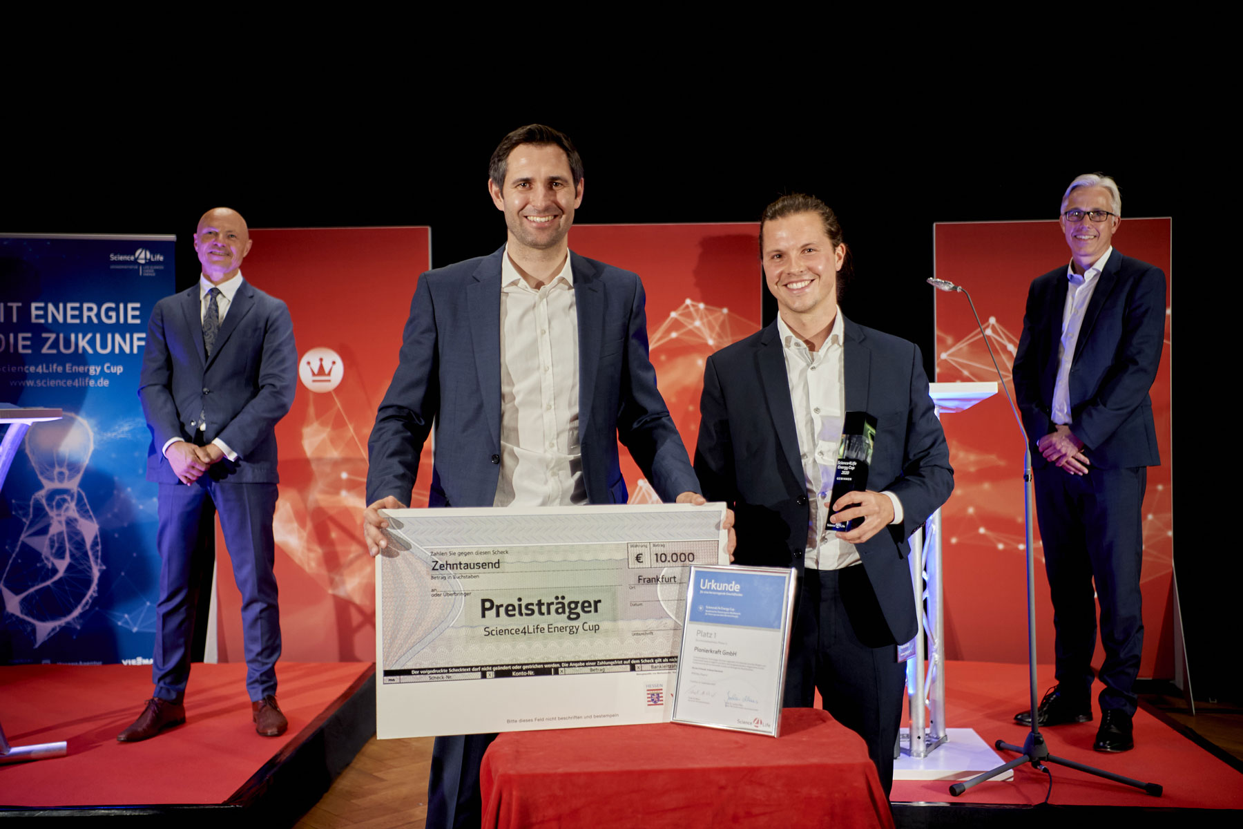 Science4Life Energy Cup, Gewinner Businessplan Wettbewerb Pionierkraft